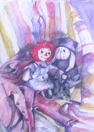 Raggedy Ann and Rabbit